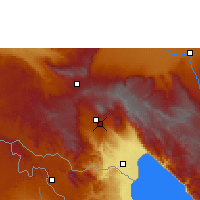 Nearby Forecast Locations - Tukuyu - Map