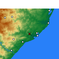 Nearby Forecast Locations - Empangeni - Map