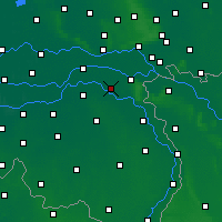 Nearby Forecast Locations - Wijchen - Map