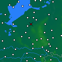 Nearby Forecast Locations - Harderwijk - Map