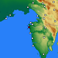 Nearby Forecast Locations - Umag - Map