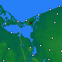 Nearby Forecast Locations - Wolin - Map