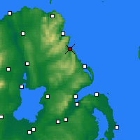 Nearby Forecast Locations - Glenarm - Map