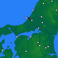 Nearby Forecast Locations - Blokhus - Map