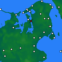 Nearby Forecast Locations - Frederikssund - Map