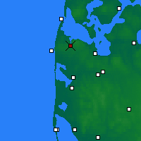 Nearby Forecast Locations - Lemvig - Map