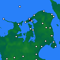 Nearby Forecast Locations - Melby - Map