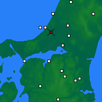 Nearby Forecast Locations - Pandrup - Map
