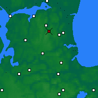 Nearby Forecast Locations - Skørping - Map