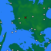 Nearby Forecast Locations - Sorø - Map