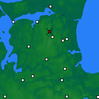 Nearby Forecast Locations - Støvring - Map