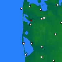 Nearby Forecast Locations - Vemb - Map