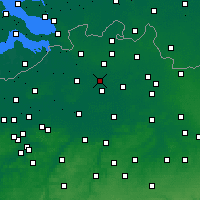 Nearby Forecast Locations - Zandhoven - Map