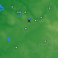 Nearby Forecast Locations - Trakai - Map