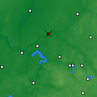 Nearby Forecast Locations - Jonava - Map