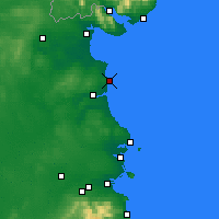Nearby Forecast Locations - Clogherhead - Map