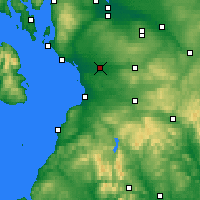 Nearby Forecast Locations - Kilmarnock - Map