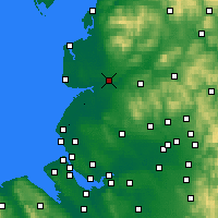 Nearby Forecast Locations - Preston - Map