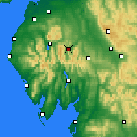 Nearby Forecast Locations - Ullswater - Map