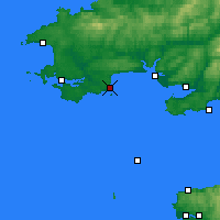 Nearby Forecast Locations - Tenby - Map