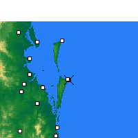 Nearby Forecast Locations - Point Lookout - Map