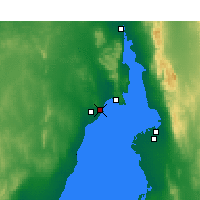 Nearby Forecast Locations - Whyalla - Map