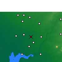 Nearby Forecast Locations - Nadiad - Map