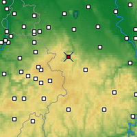 Nearby Forecast Locations - Rur Dam - Map