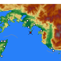 Nearby Forecast Locations - Fethiye - Map