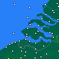 Nearby Forecast Locations - Renesse - Map