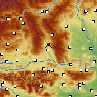 Nearby Forecast Locations - Wolfsberg - Map