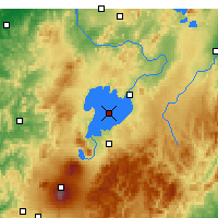 Nearby Forecast Locations - Lake Taupo - Map