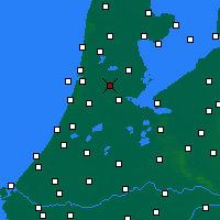 Nearby Forecast Locations - Zaanstad - Map