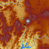 Nearby Forecast Locations - Mount Shasta - Map