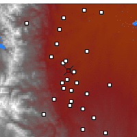Nearby Forecast Locations - Broomfield - Map