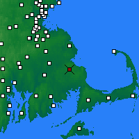 Nearby Forecast Locations - Plymouth - Map