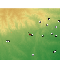 Nearby Forecast Locations - Hondo - Map