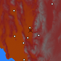 Nearby Forecast Locations - Logan - Map