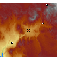Nearby Forecast Locations - Saint George - Map