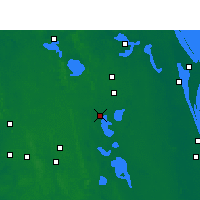 Nearby Forecast Locations - Kissimmee - Map