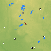 Nearby Forecast Locations - Glenwood - Map