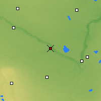 Nearby Forecast Locations - New Ulm - Map