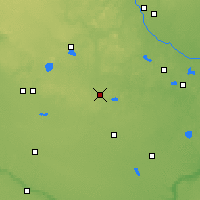 Nearby Forecast Locations - Litchfield - Map