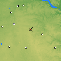 Nearby Forecast Locations - Dodge Center - Map