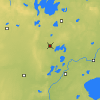 Nearby Forecast Locations - Pine River - Map