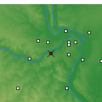 Nearby Forecast Locations - Chesterfield - Map