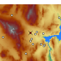 Nearby Forecast Locations - Las Vegas N - Map