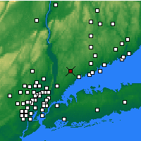 Nearby Forecast Locations - White Plains - Map