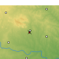 Nearby Forecast Locations - Lawton - Map