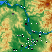 Nearby Forecast Locations - Scappoose - Map